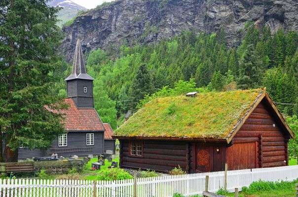 Flam Kyrkje - Sognefjord