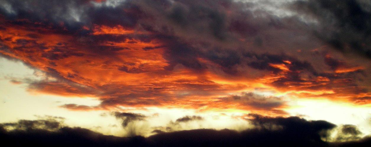 flame sky