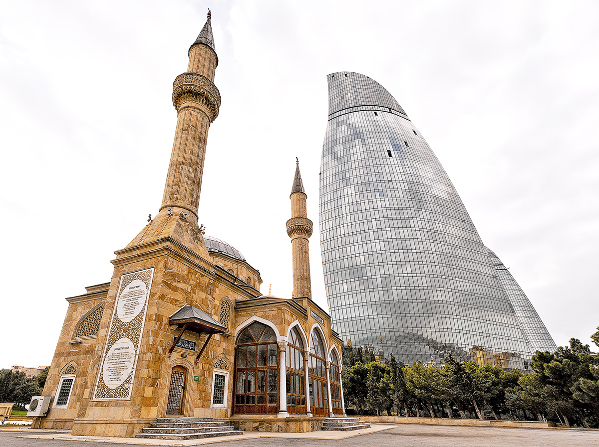Flame Towers of Baku III