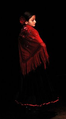Flamenco-mädchen