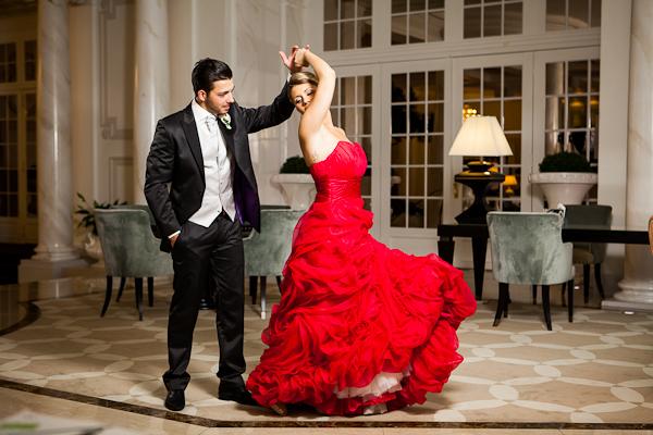 Flamenco of the bride..