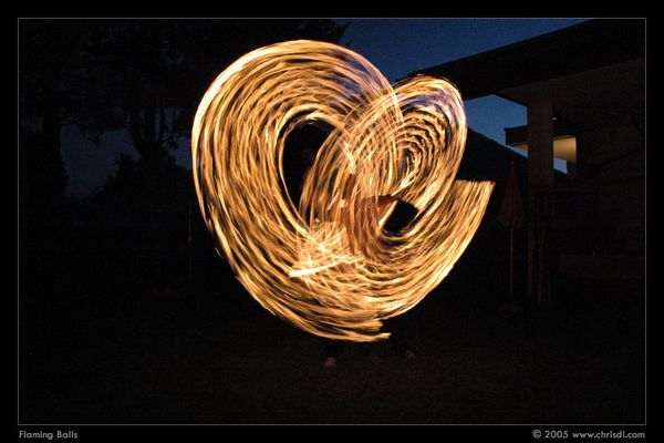 flaming balls³
