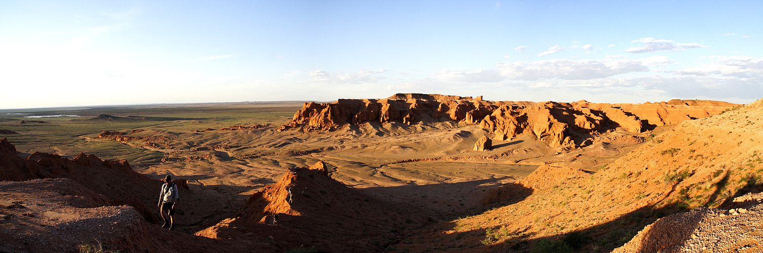 Flaming Cliffs, Wüste Gobi Mongolei