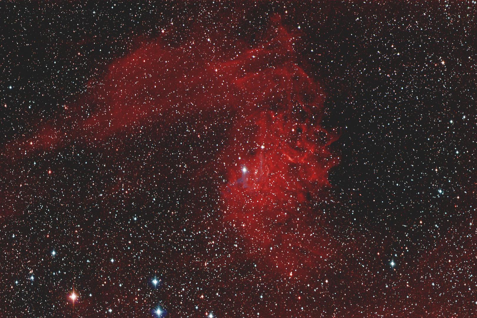 """""""Flaming Star """" (IC405) im Fuhrmann"""