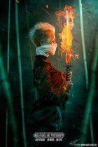 Flaming Sword (Nikon D800)