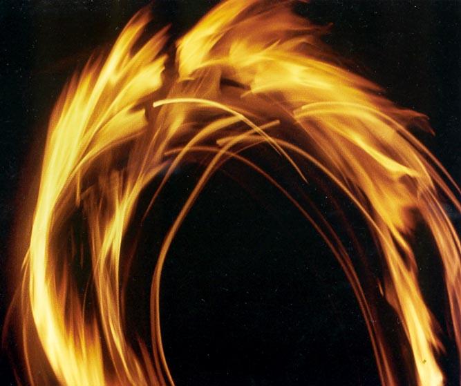 Flammenbogen