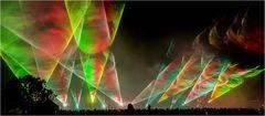 Flammende Sterne Laser-show 1