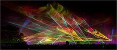 Flammende Sterne Laser-show 3