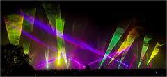 Flammende Sterne Lasershow 5
