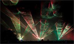 Flammende Sterne Lasershow 6