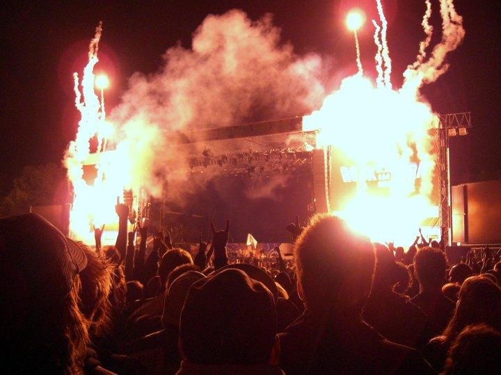 Flammendes Inferno - Metallica is in da house