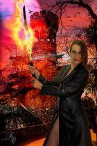 Flammendes Schwert