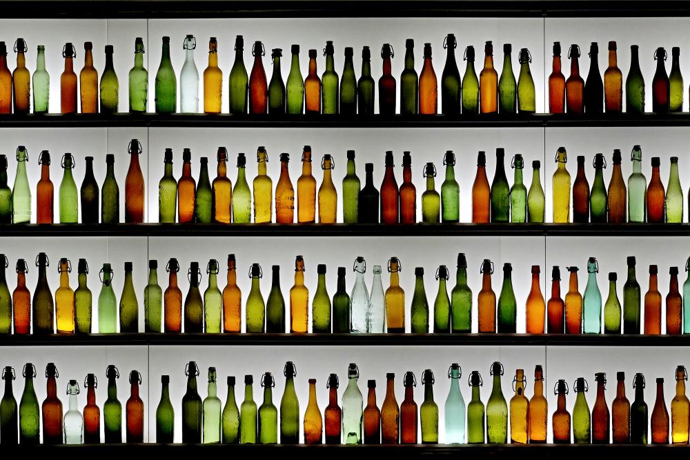 Flasche leer II