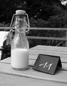 Flasche Milch