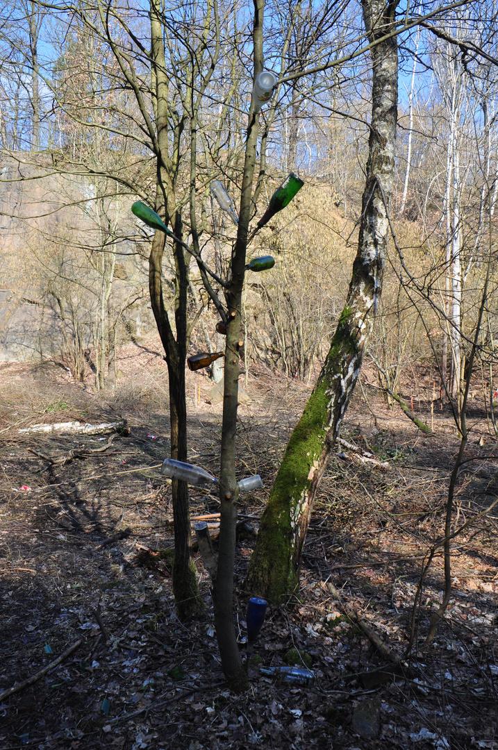 Flaschen - Baum