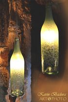 Flaschenlampen
