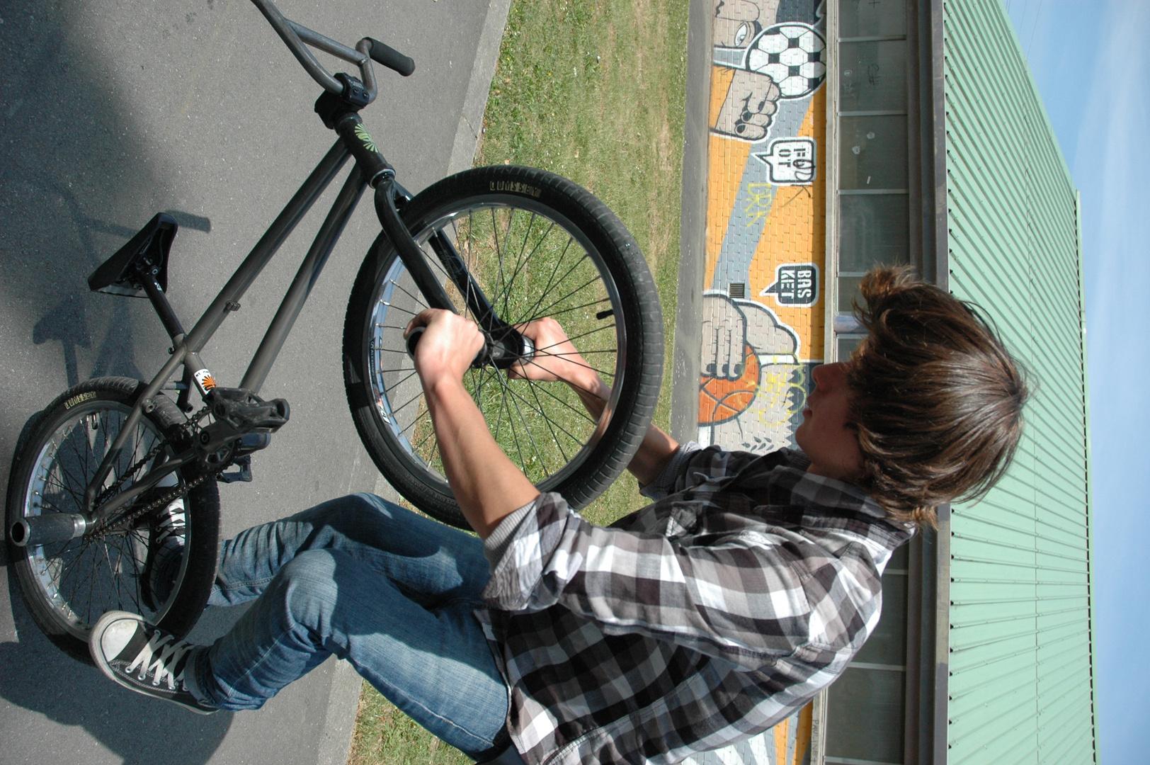 Flat en BMX