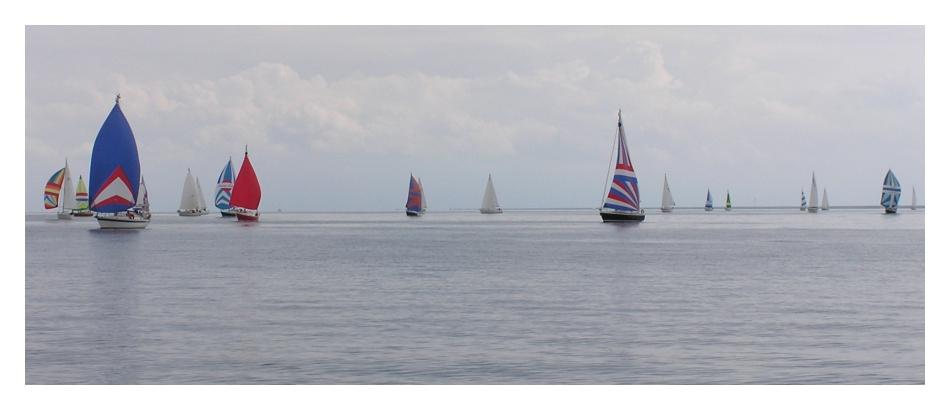 Flaute! Segeln, oder nicht segeln, das ist hier die Frage.