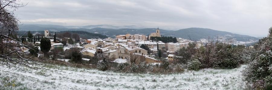 Flayosc, mon village.