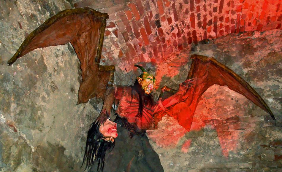 Fledermaus der Hölle - Krampusmasken (1)