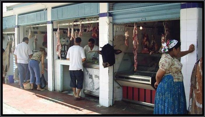 Fleischmarkt in Sousse