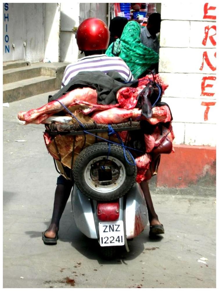 Fleischtransport