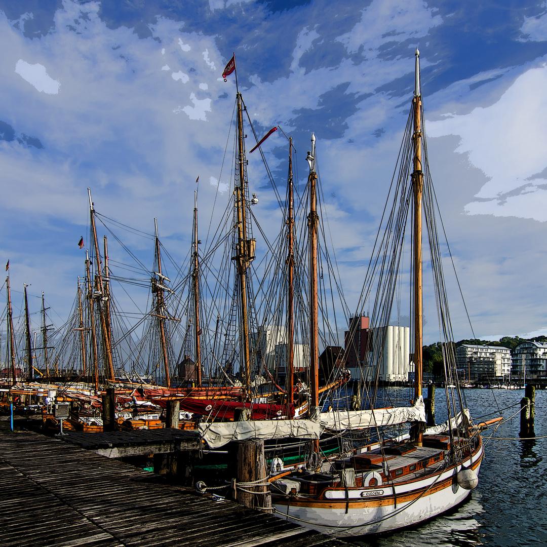 Flensburg Museumshafen