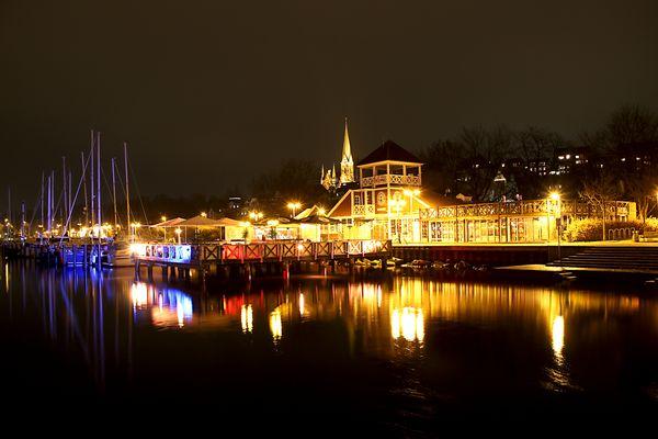 Flensburg @ night