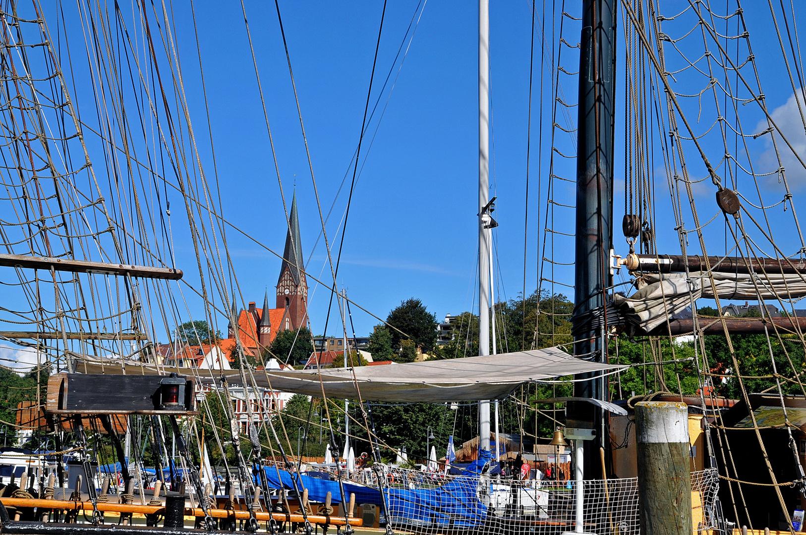 Flensburg von Seefahrerseite