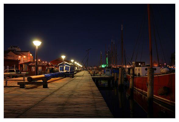 Flensburger Förde bei Nacht