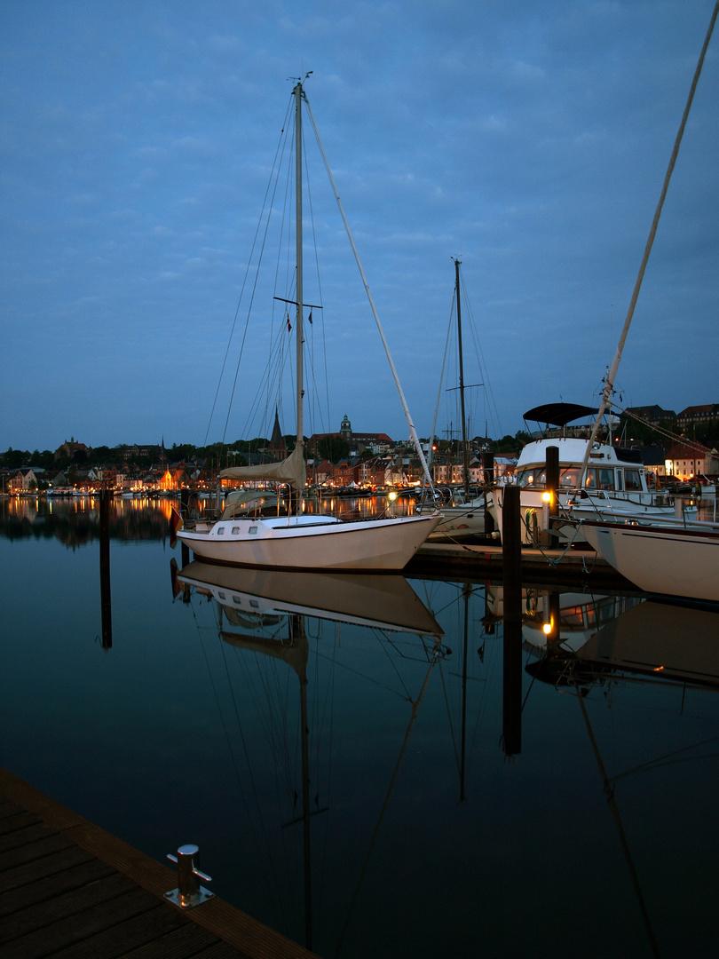 Flensburger Hafen ganz früh - halb 5