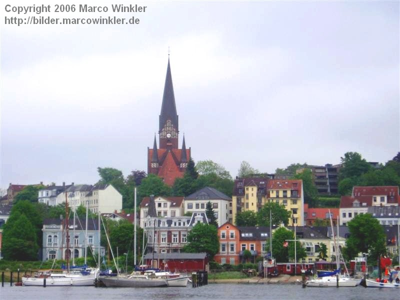 Flensburgs Skyline
