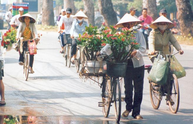 Fleuristes ambulantes