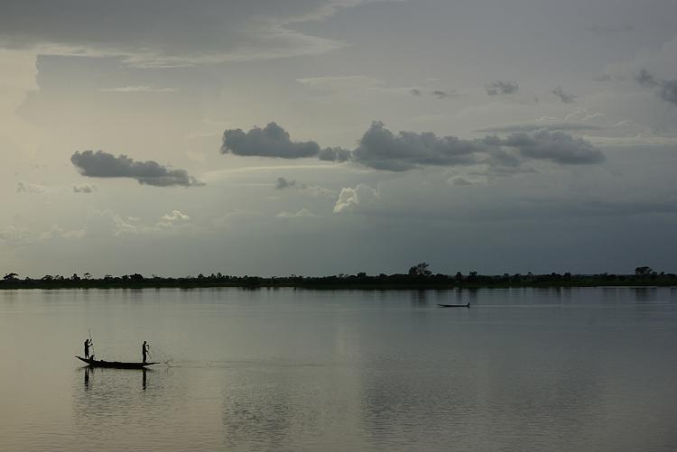 Fleuve Niger à Ségou (Mali)