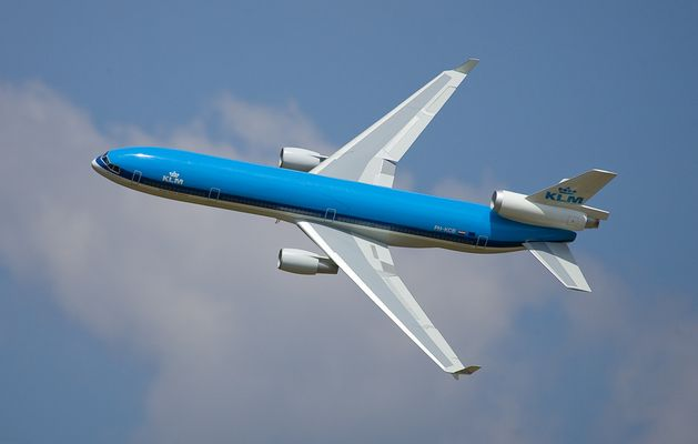 Fliegen sie mit KLM