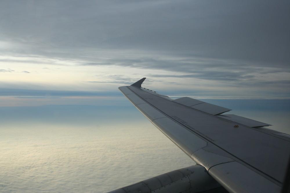 Fliegen über Paris