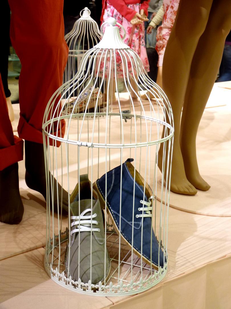 Fliegende Schuhe?