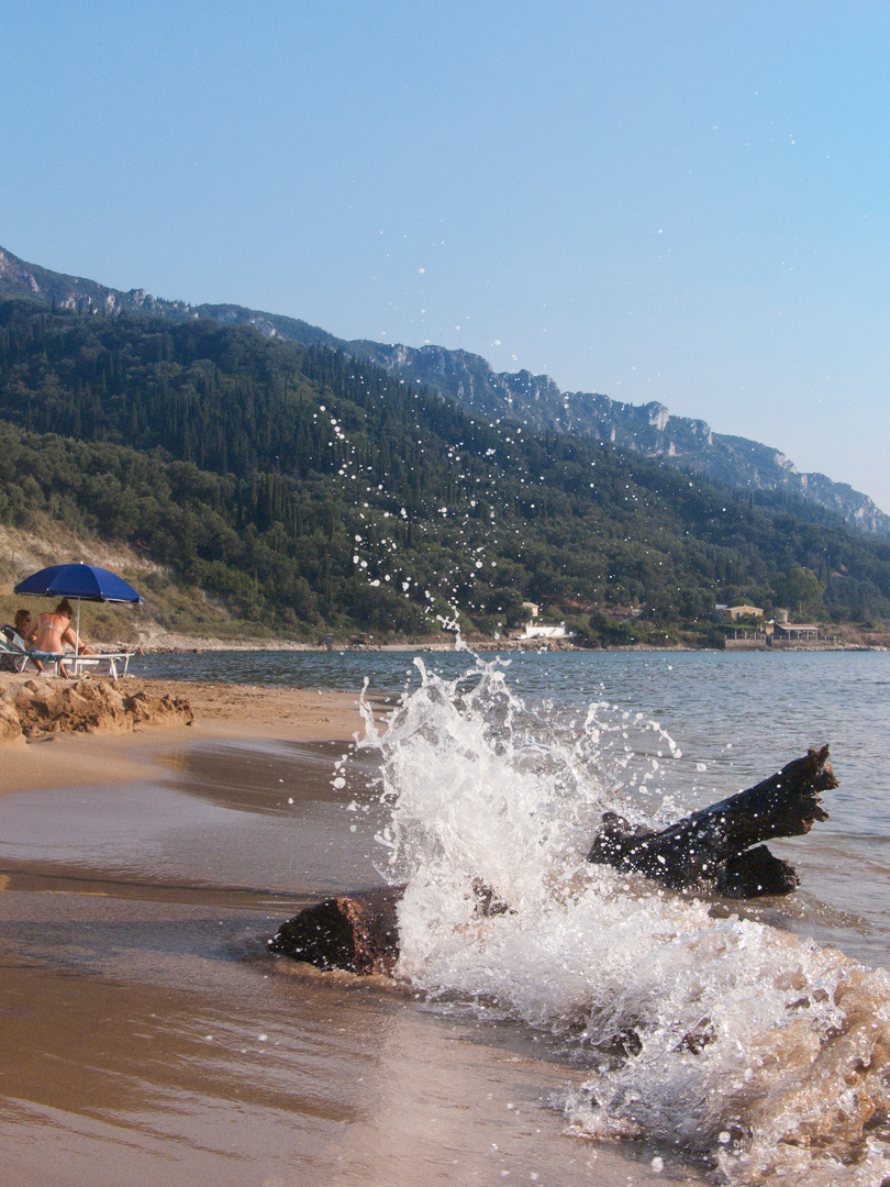 Fliegende Welle