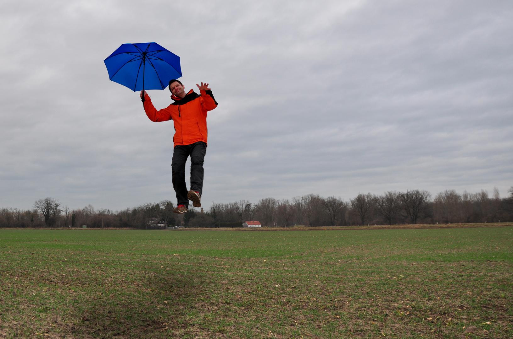Fliegender Fotograf
