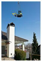 """""""Fliegender"""" Kleinbagger"""