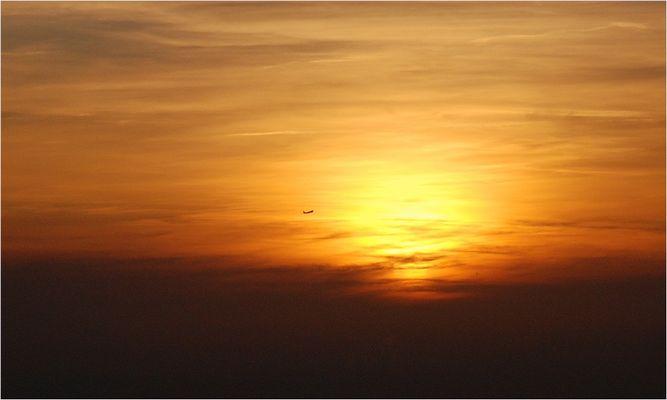 Flieger, grüß' mir die Sonne...