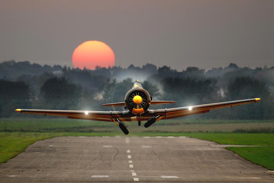 Flieger grüß mir die Sonne ..............