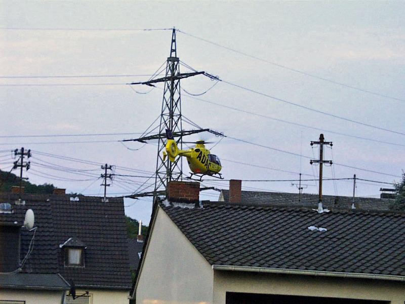 Fliegerische Glanzleistung ( Hubschrauber )