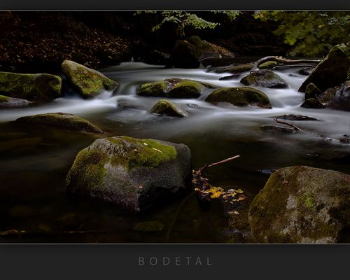 fließendes Wasser, Bodetal, Harz
