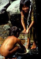 Fliessendes Wasser in Bontoc