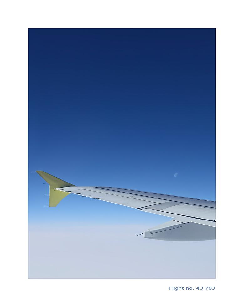 Flight no. 4U 783