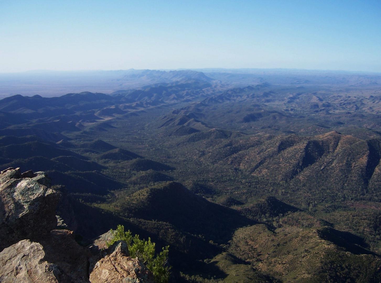 Flinders Ranges seen from Wilpena Pound