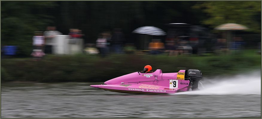 Flitzer in Pink