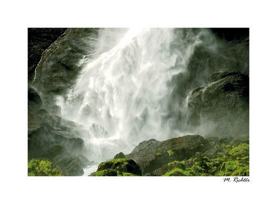 Flåmsbahn-Wasserfall