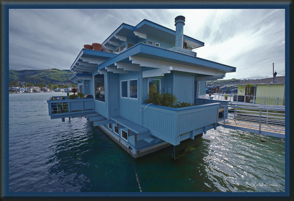 Floating homes Sausalito Californie